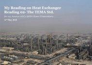 Understanding Heat Exchanger Reading 02