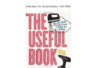 E-Book The Useful Book: 201 Life Skills They Used to Teach in Home Ec and Shop by David Bowers