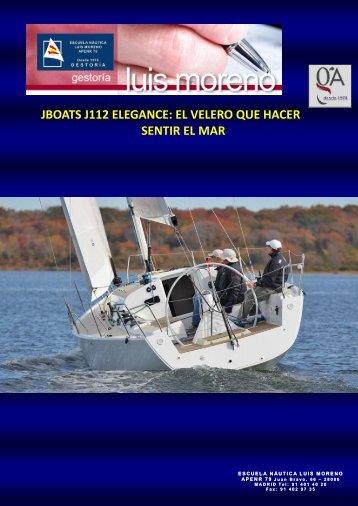 JBOATS J112 ELEGANCE EL VELERO QUE HACER SENTIR EL MAR - Nauta360