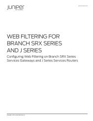 Best Practices for SRX Series Chassis Cluster     - Juniper Networks