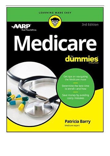 eBook Medicare For Dummies Free books