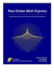 PDF] TOP TREND Real Estate Math Express: Rapid Review and Practice