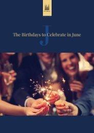 Birthday Calendar June