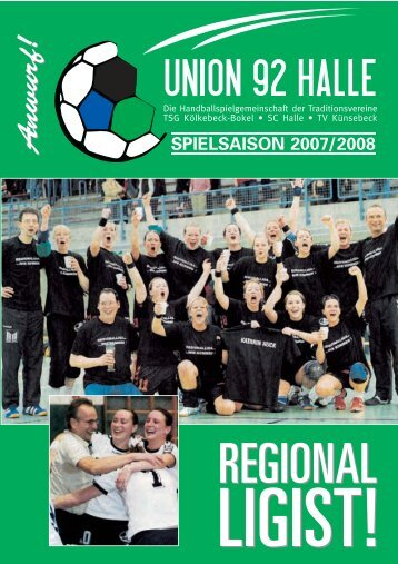 Die männl. D1- Jugend - HSG Union 92 Halle