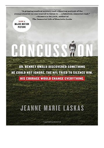 [PDF] Download Concussion Full Ebook