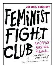 [PDF] Download Feminist Fight Club An Office Survival Manual for a Sexist Workplace Full Ebook