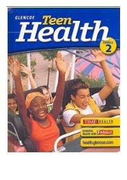 [PDF] Download Glencoe Teen Health Course 2 Full ePub