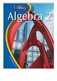 [PDF] Download Glencoe Algebra 2 Full pages