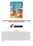 [PDF] Download Kid Chef The Foodie Kids Cookbook Healthy Recipes and Culinary Skills for the New Cook - Page 3