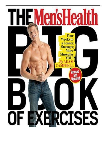 [PDF] Download Men's Health Big Book of Exercises The Full Books