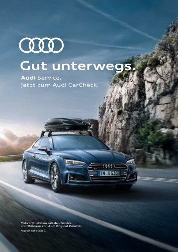 Audi Service Beileger Sommer
