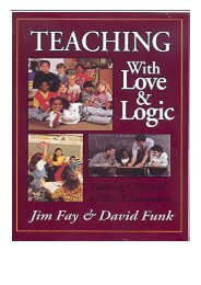 [PDF] Download Teaching with Love and Logic Taking Control of the Classroom Full ePub
