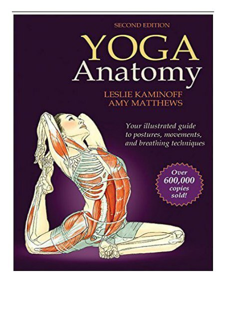 Pdf Download Yoga Anatomy 2nd Edition Full Pages