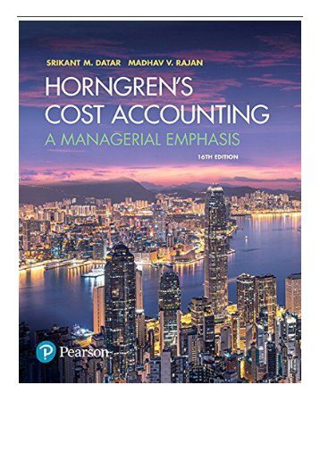 [PDF] Horngren's Cost Accounting A Managerial Emphasis Full Online