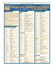 [PDF] Medical Abbreviations Quickstudy Academic Full pages