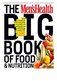 [PDF] Men's Health Big Book of Food  Nutrition Full Online