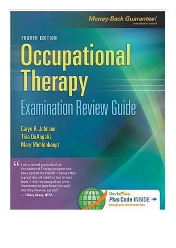 [PDF] Occupational Therapy Examination Review Guide 4th Edition Full Online