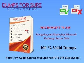 Microsoft 70-345 dumps