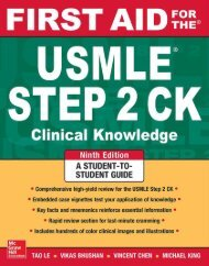 First Aid for the USMLE Step 2 CK, 9th Edition