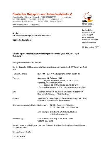 Deutscher Rollsport- und Inline-Verband e.V.