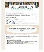 Juni 2011 - All Languages