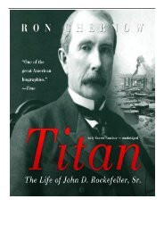 [PDF] Titan The Life of John D. Rockefeller Sr. Full Page