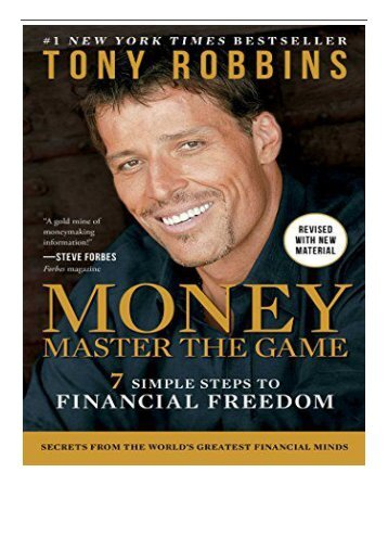 Best PDF Money Master the Game 7 Simple Steps to Financial Freedom Full Page