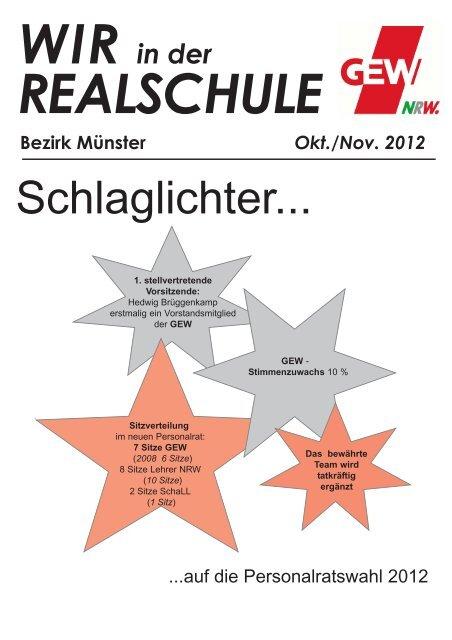 Personalräte - GEW - Kreisverband Steinfurt