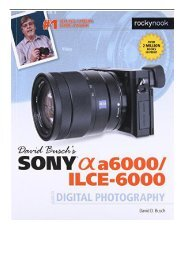 PDF Download David Busch s Sony Alpha A6000 Ilce-6000 Guide to Digital Photography Full eBook