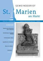 Brief - St. Marien Evangelisch-lutherische Kirchengemeinde ...