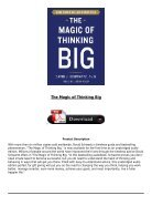 PDF Download The Magic of Thinking Big Full Page - Page 3