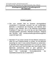 Universität Osnabrück, FB Rechtswissenschaft