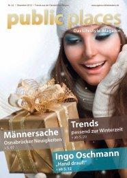 public places Dezember 2012 - Schäfer, Events & Medien