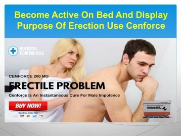 Obtain Firmer Erection With Adorable Intimate Moment With Cenforce