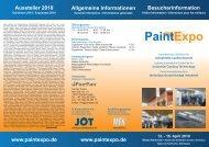 PaintExpo 13. - 16. April 2010