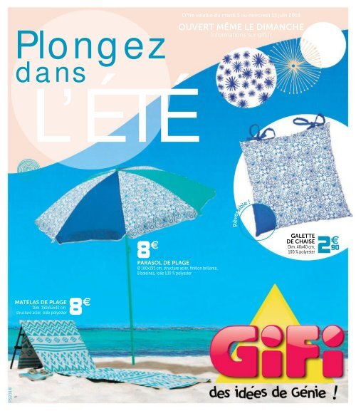 Gifi Catalogue 5 Juin 13 Juin 2018