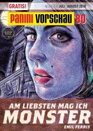 Panini Vorschau 80: Neuheiten Juli/August 2018