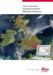 Leica SmartNet Commercial RTK Network Solution