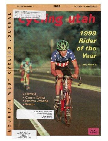 VOLUME 7 NUMBER 8 OCTOBER ... - University of Utah