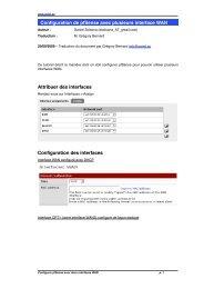 Configuration de pfSense avec plusieurs interface WAN ... - OSNet.eu