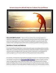 Turmeric Curcumin 180 - 100 % Relief From Chronic & Joint Pain!