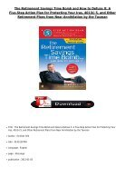 [PDF] The Retirement Savings Time Bomb and How to Defuse It A Five-Step Action Plan for Protecting Your - Page 2