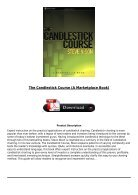[PDF] The Candlestick Course A Marketplace Book Full Page - Page 3