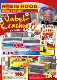 Schnell die Jubel-Kracher sichern! Robin Hood Möbel und Küchen in 78166 Donaueschingen