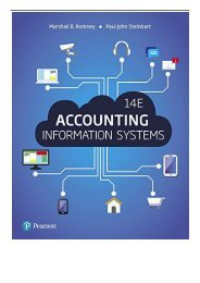 Best PDF Accounting Information Systems Full Books