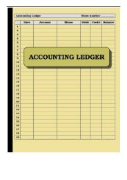 Best PDF Accounting Ledger 120 pages Size = 8.5 x 11 inches double-sided  perfect binding non-perforated