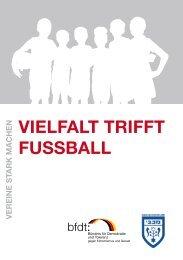 Vielfalt trifft fuSSball - Bündnis für Demokratie und Toleranz