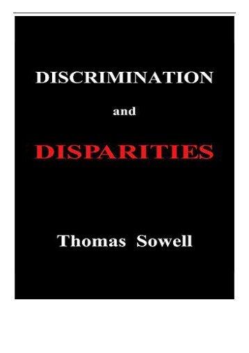 eBook Discrimination and Disparities Free eBook