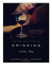 eBook Drinking A Love Story Free online