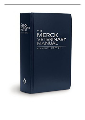 Merck Manual Pdf Free